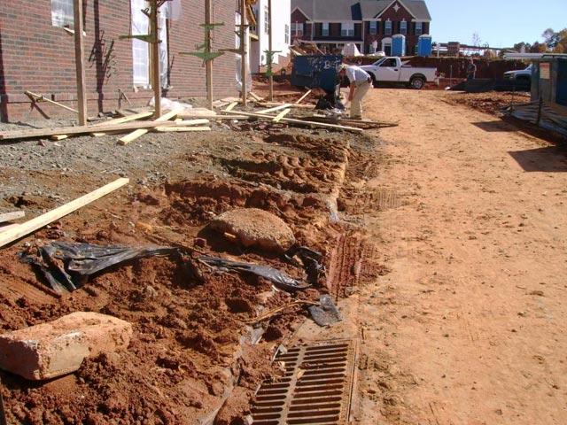 Construction Erosion