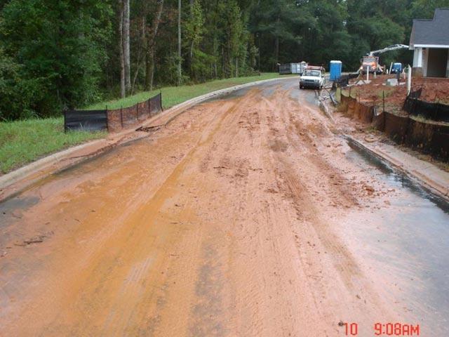Muddy Runoff