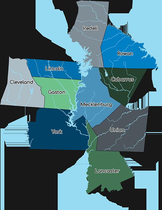 Regional Stormwater of the Carolinas Map